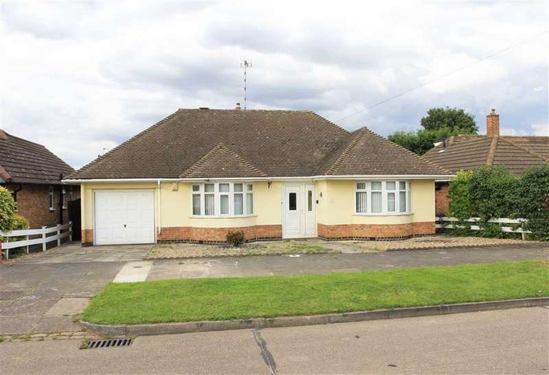 3 Bedrooms Bungalow for sale in Bathurst Road, Evington, Leicester