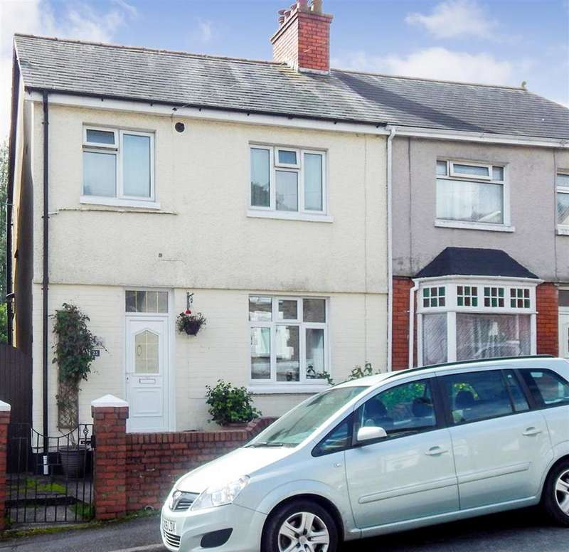 3 Bedrooms Semi Detached House for sale in Penlan Road, Treboeth, Swansea