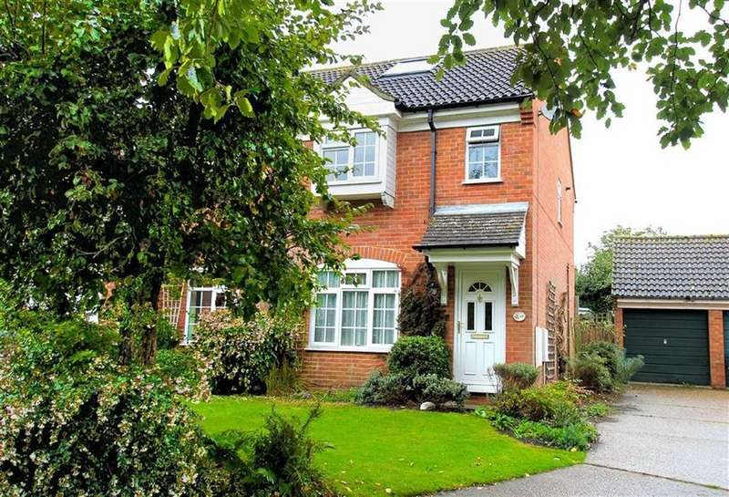 4 Bedrooms End Of Terrace House for sale in Old School Close, Codicote, SG4 8YJ