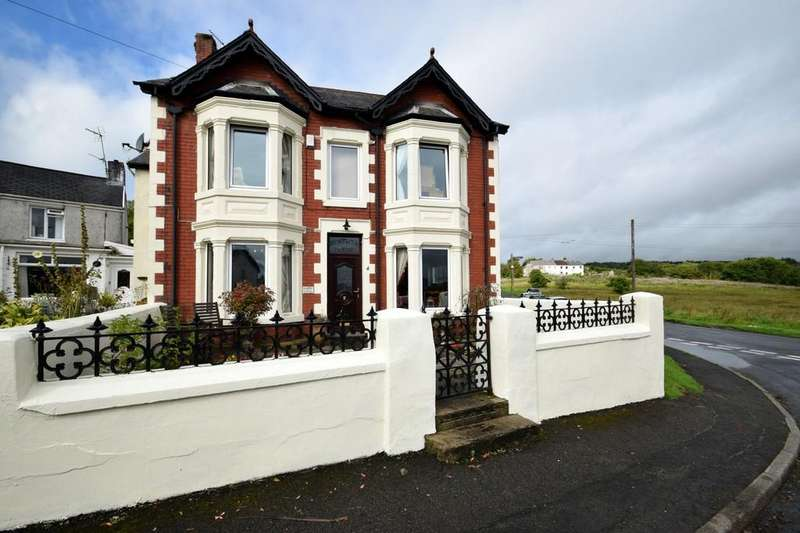 4 Bedrooms Detached House for sale in Pentwyn House, 4 Pen Yr Heol, Pen-Y-Fai, Bridgend, Bridend County Borough, CF31 4ND