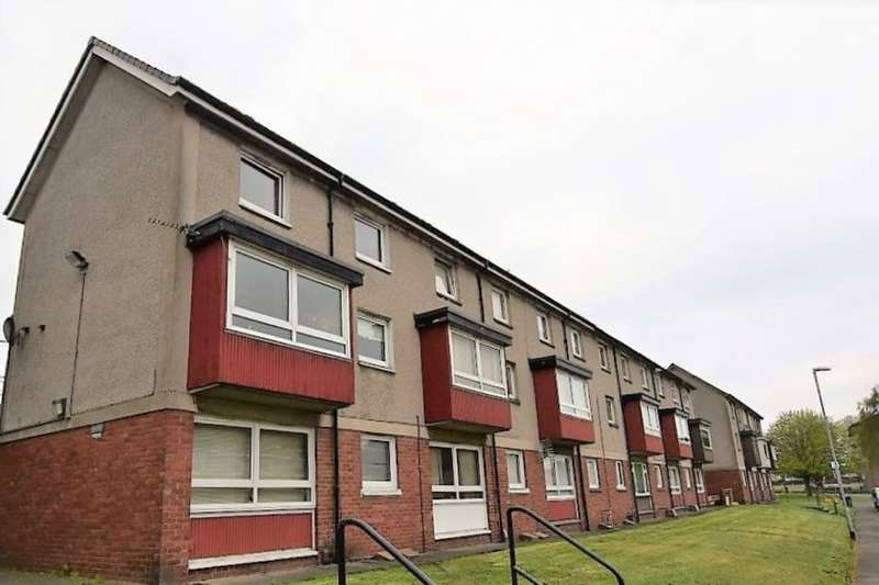 2 Bedrooms Flat for sale in Shirrel Avenue, Bellshill, ML4