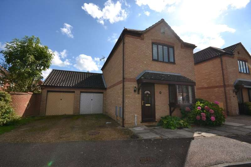3 Bedrooms Detached House for sale in Liberty Drive, Duston, Northampton, NN5