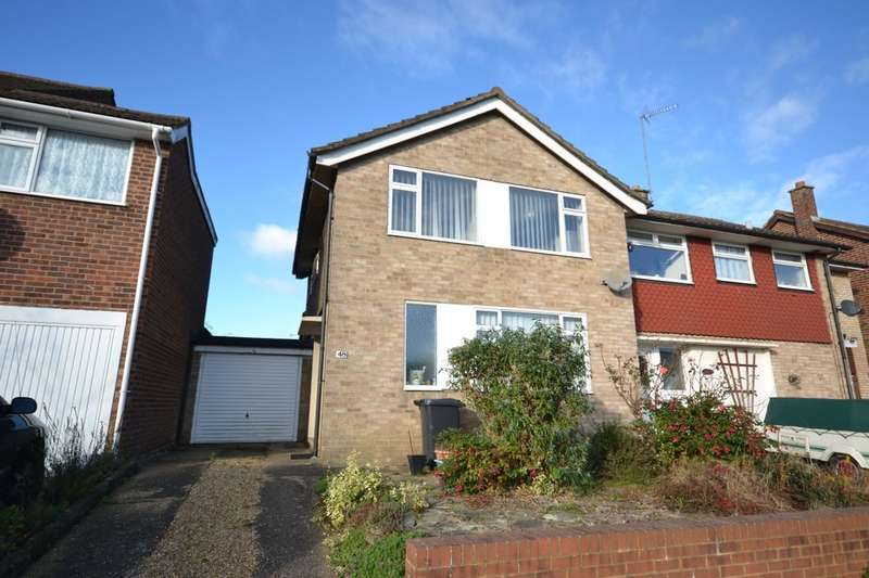 3 Bedrooms Semi Detached House for sale in Cotswold Avenue, Duston, Northampton, NN5