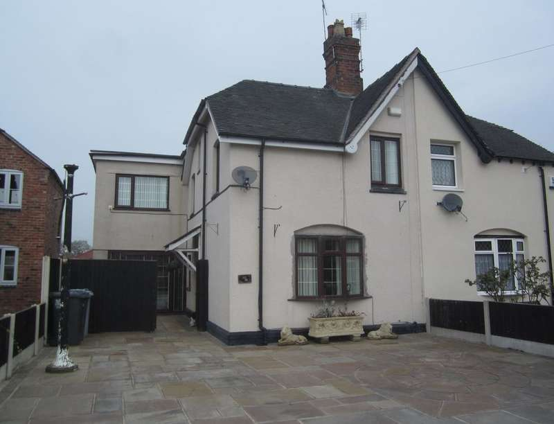 3 Bedrooms Semi Detached House for sale in Valley Road, Crewe, CW2