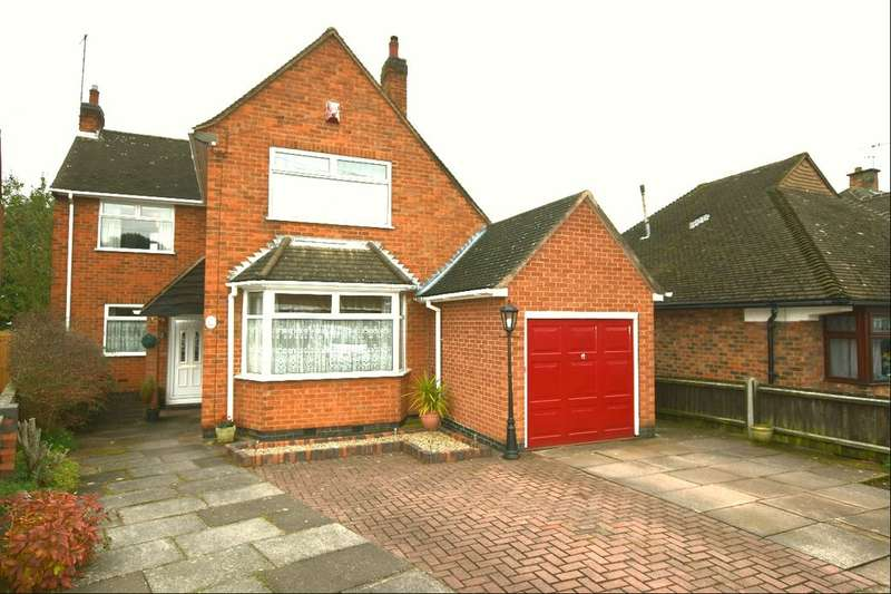 4 Bedrooms Detached House for sale in Hallam Avenue, Birstall, Leicester, LE4