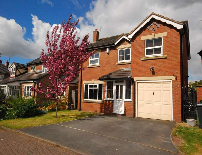 4 Bedrooms Detached House for sale in Sherwood Grove, Helsby, Frodsham, WA6
