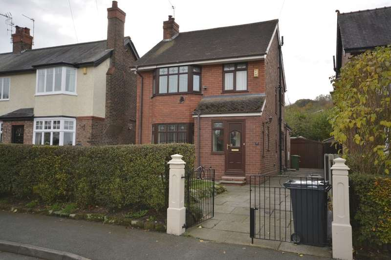3 Bedrooms Detached House for sale in Hillside Road, Frodsham, WA6