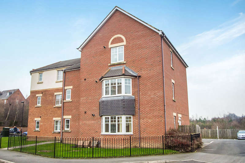 2 Bedrooms Flat for sale in Haydon Drive, Wallsend, NE28