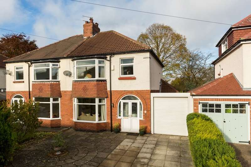 3 Bedrooms Semi Detached House for sale in Towton Avenue, Off Mount Vale, York, YO24