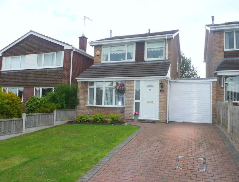 3 Bedrooms Detached House for sale in Shannon Road, Stafford, ST17