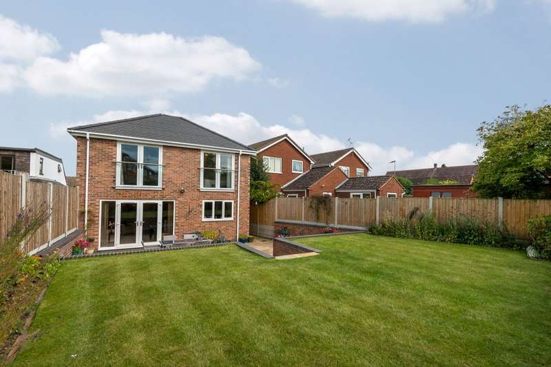4 Bedrooms Detached House for sale in Marston Road, Wheaton Aston, Stafford, ST19
