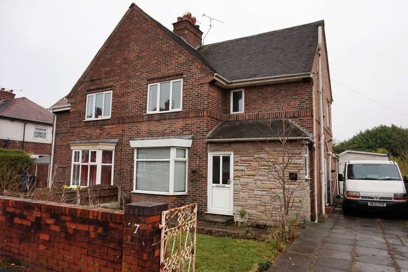 3 Bedrooms Semi Detached House for sale in Tithe Barn Road, Stafford, ST16