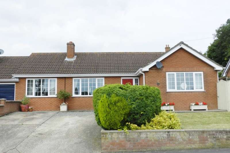 2 Bedrooms Detached Bungalow for sale in Church Lane, Huttoft, Alford, LN13