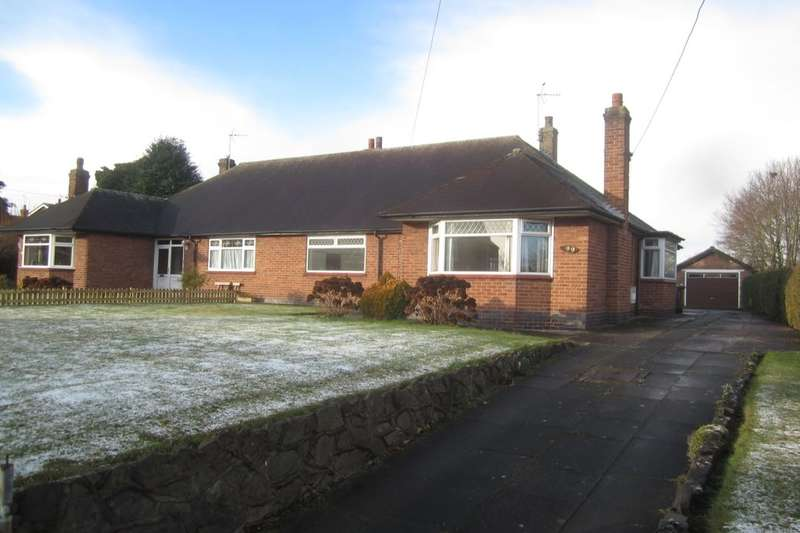 3 Bedrooms Semi Detached Bungalow for rent in Crewe Road, Shavington, Crewe, CW2