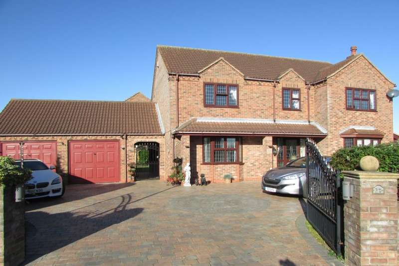 4 Bedrooms Detached House for sale in Dale Park Avenue, Winterton, Scunthorpe, DN15