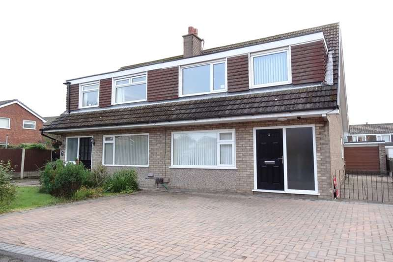 3 Bedrooms Semi Detached House for sale in Newark Place, Fulwood, Preston, PR2