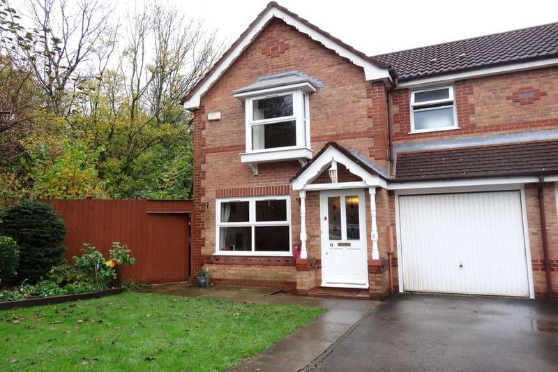 3 Bedrooms Semi Detached House for sale in Larchgate, Fulwood, Preston, PR2