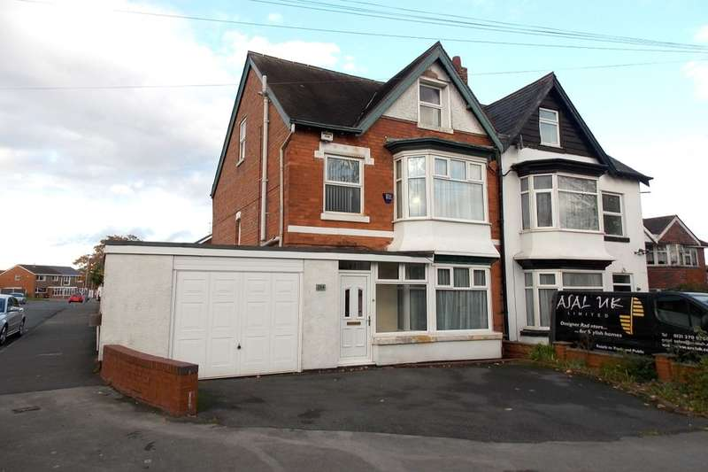 5 Bedrooms Semi Detached House for sale in Yardley Fields Road, Stechford, Birmingham, B33