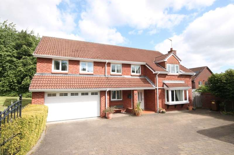 4 Bedrooms Detached House for sale in The Fairway, Washington, NE37