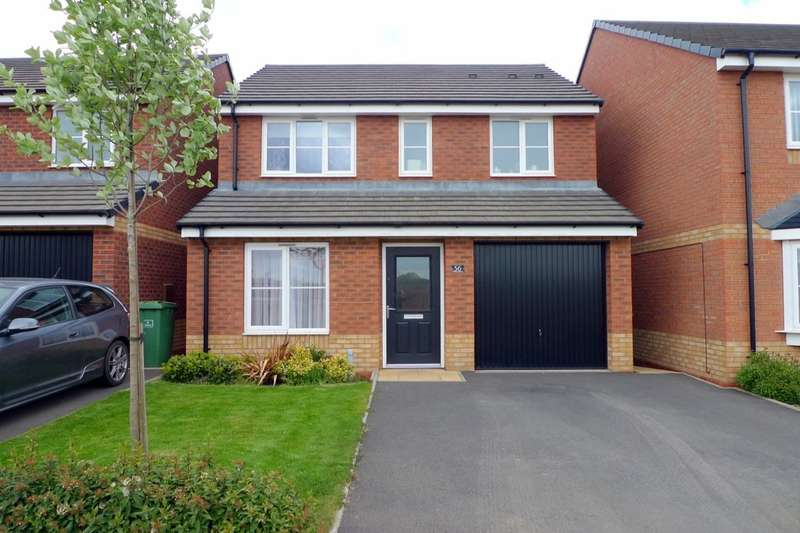 3 Bedrooms Detached House for rent in Newbold Drive, Stafford, ST16