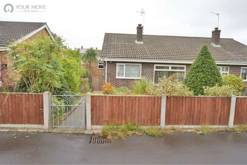 2 Bedrooms Semi Detached Bungalow for sale in Jasmine Gardens, Bradwell, Great Yarmouth, NR31