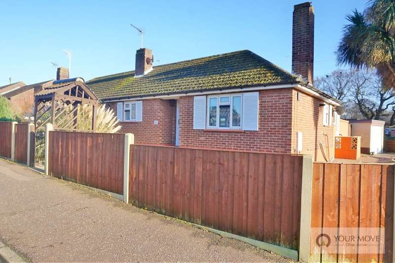 2 Bedrooms Semi Detached Bungalow for sale in Morton Crescent, Bradwell, Great Yarmouth, NR31