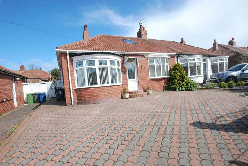 2 Bedrooms Bungalow for sale in Central Gardens, South Shields