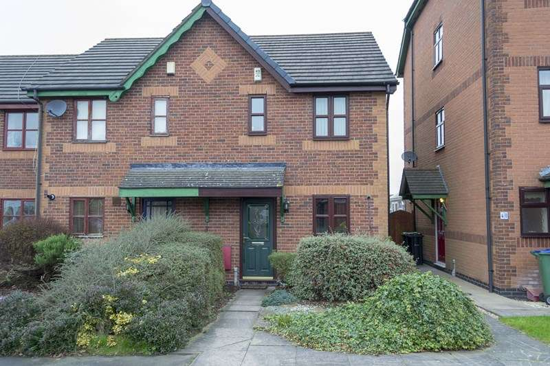 2 Bedrooms End Of Terrace House for sale in Monins Avenue, Tipton