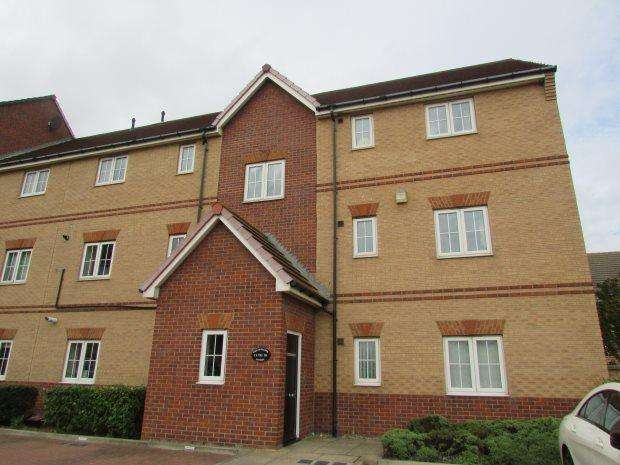 2 Bedrooms Flat for rent in BREAKWATER HOUSE, MARINA, HARTLEPOOL