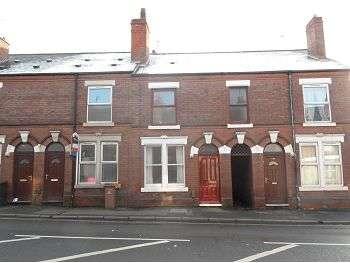 2 Bedrooms Terraced House for rent in Nottingham Road, Derby, DE21 6AQ