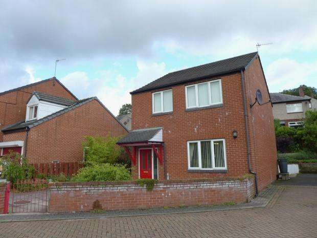 3 Bedrooms Detached House for sale in Cedar Close Todmorden