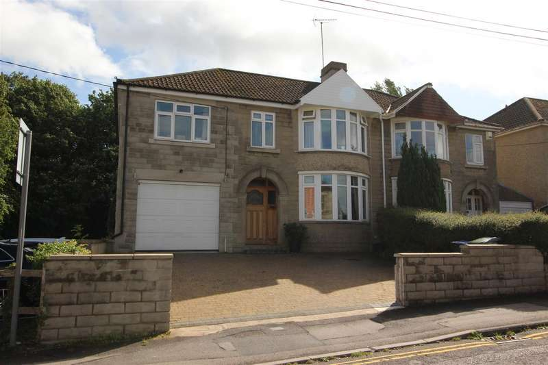 4 Bedrooms Semi Detached House for sale in Spanbourn Avenue, Chippenham