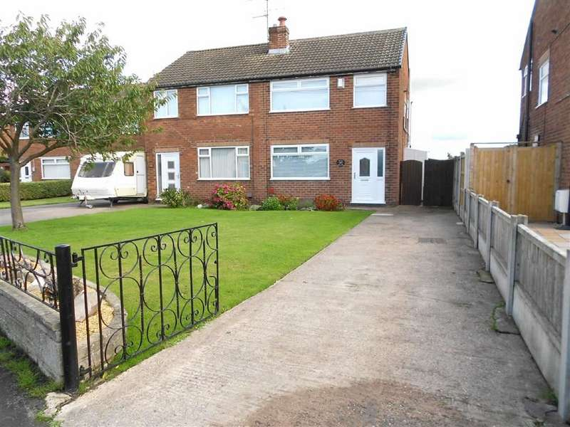 3 Bedrooms Semi Detached House for sale in Broughton Road, Coppenhall, Crewe, Cheshire