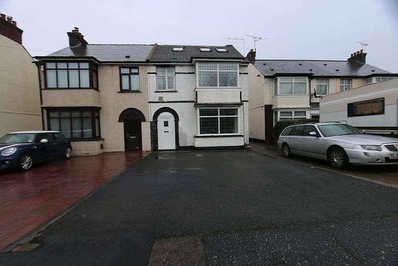 4 Bedrooms Semi Detached House for sale in Hall Road, Northfleet, Gravesend, Kent, DA11 8AW