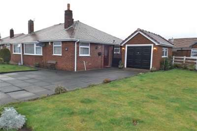 2 Bedrooms Semi Detached Bungalow for rent in Birchdale Road, Warrington, WA1 3ER