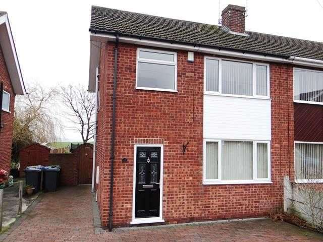 3 Bedrooms Semi Detached House for sale in Belvedere Avenue, Chesterfield