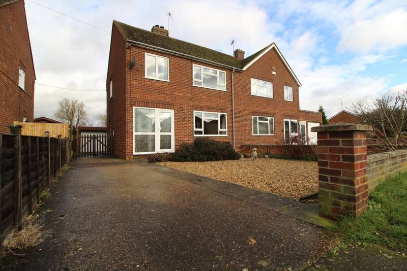 4 Bedrooms Semi Detached House for sale in Willen Road, Newport Pagnell, Buckinghamshire