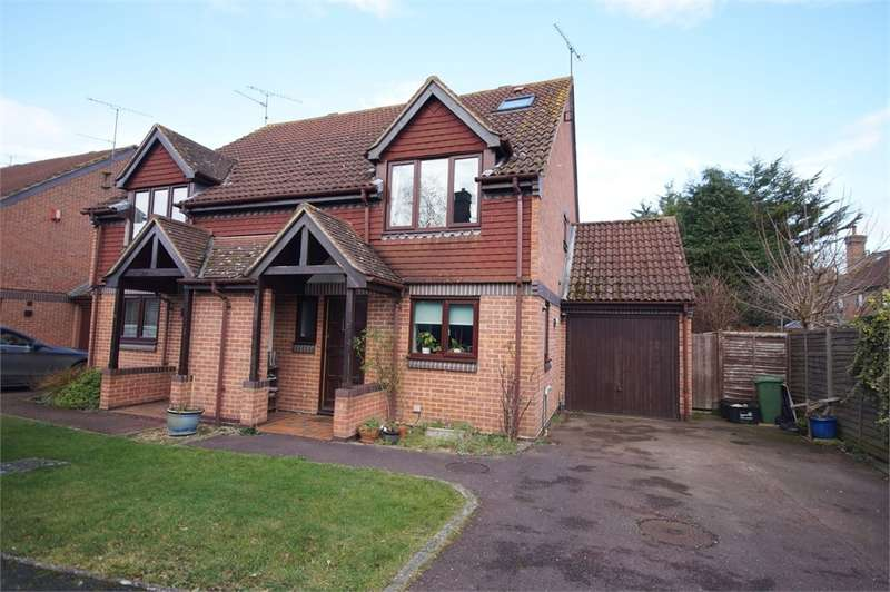 3 Bedrooms Semi Detached House for sale in Winston Close, Spencers Wood, READING, Berkshire