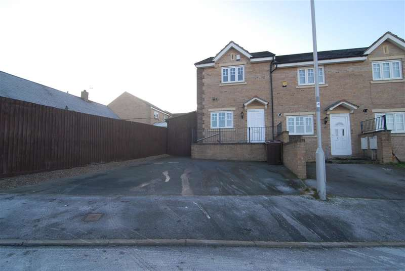 2 Bedrooms End Of Terrace House for sale in Corsair Avenue, Bradford