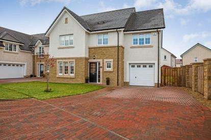 5 Bedrooms Detached House for sale in Rose Drive, Larbert
