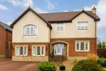 5 Bedrooms Detached House for sale in Snead View, Motherwell