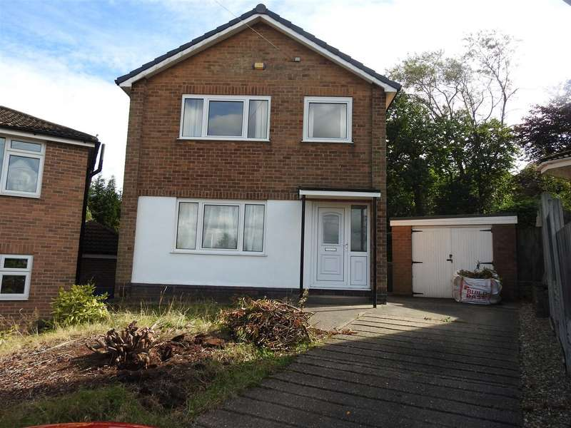3 Bedrooms Detached House for sale in Westbrook Avenue, Ravenshead, Nottingham