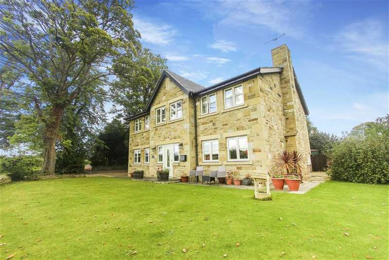 4 Bedrooms Detached House for sale in Lesbury, Alnwick, Northumberland