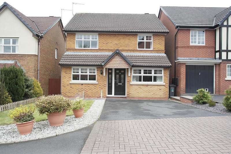 4 Bedrooms Detached House for rent in Princetown Close, Meir Park, Stoke on Trent, Staffs, ST3 7WN