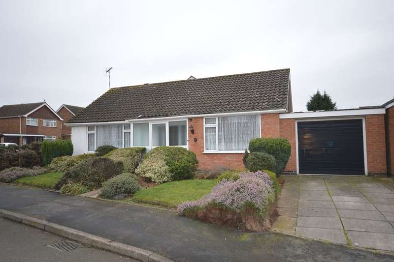 2 Bedrooms Detached Bungalow for sale in Maurice Drive, Countesthorpe, Leicester, LE8