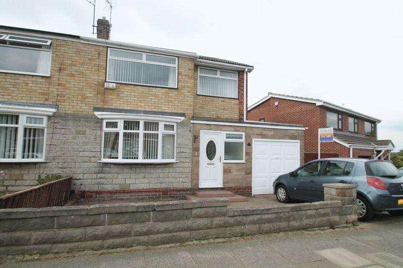 3 Bedrooms Semi Detached House for sale in Clifton Avenue, Billingham