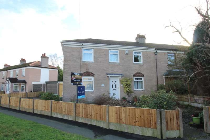 3 Bedrooms Semi Detached House for sale in Owley Wood Road, Weaverham, Northwich, CW8