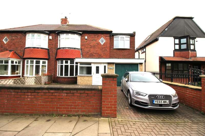 3 Bedrooms Semi Detached House for sale in Victoria Road West, Hebburn, NE31