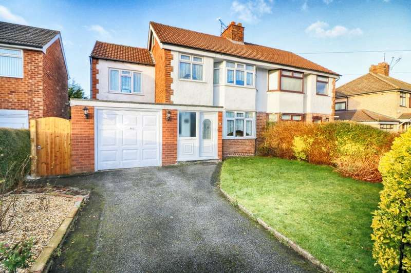 4 Bedrooms Semi Detached House for sale in Adaston Avenue, Wirral, CH62