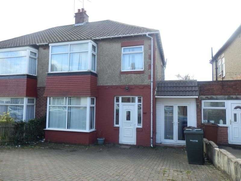 3 Bedrooms Semi Detached House for sale in Ilfracombe Avenue, Newcastle Upon Tyne, NE4
